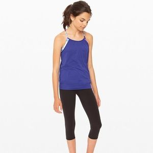 NWT Ivivva Double Dutch Blue Tank Size 14